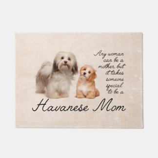 Havanese Mom Door Mat