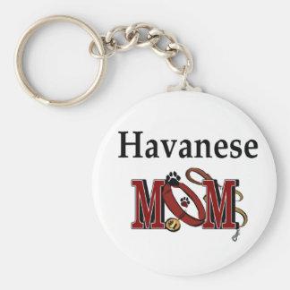 Havanese MOM Gifts Keychain