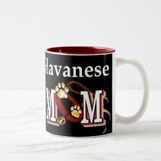 Havanese MOM Gifts Two-Tone Coffee Mug