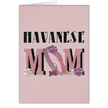 Havanese MOM Greeting Card