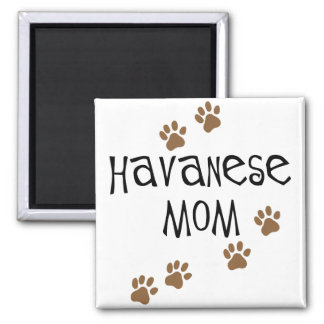 Havanese Mom Refrigerator Magnet