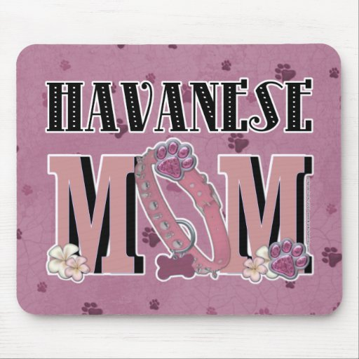 Havanese MOM Mouse Pad