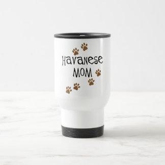 Havanese Mom 15 Oz Stainless Steel Travel Mug