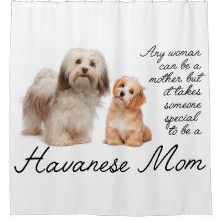 Havanese Mom Shower Curtain