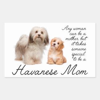Havanese Mom Stickers