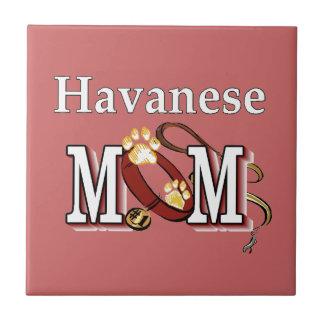 Havanese Mom Tile