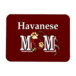 Havanese Mom Vinyl Magnets
