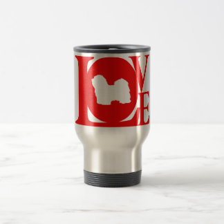 Havanese 15 Oz Stainless Steel Travel Mug
