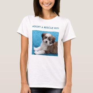 Havanese Puppy Adopt A Rescue Pet T-Shirt