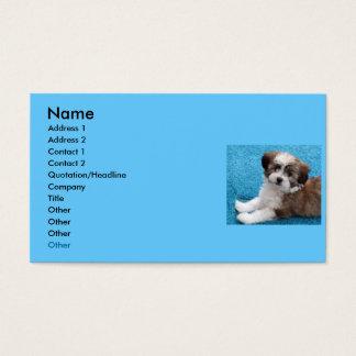 Havanese Puppy Business Card