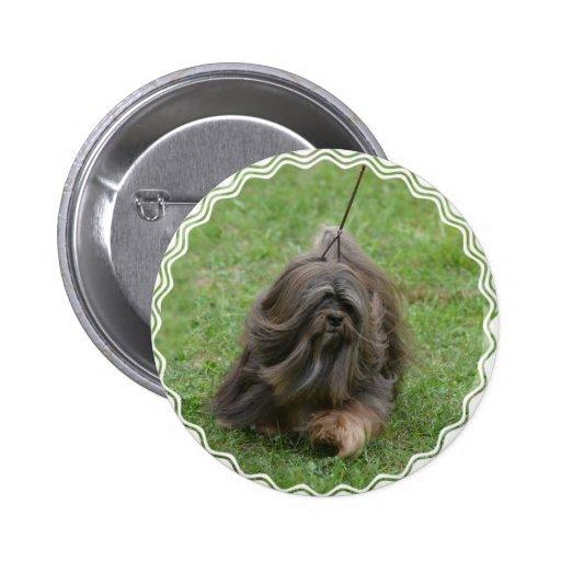 Havanese Puppy Pinback Button
