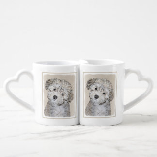 Havanese Puppy Coffee Mug Set
