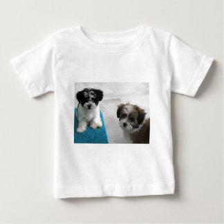 Havanese Rescue Puppies Black White Gray Baby T-Shirt