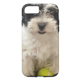 Havanese Rescue Puppy Black White iPhone 7 Case