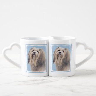 Havanese (Silver) Coffee Mug Set