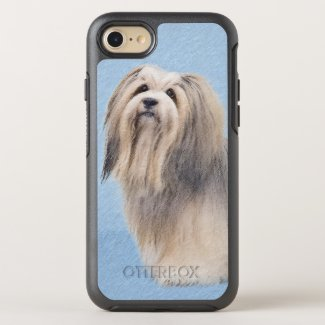 Havanese (Silver) OtterBox Symmetry iPhone 8/7 Case