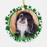Havanese St. Patrick's Day Ornament