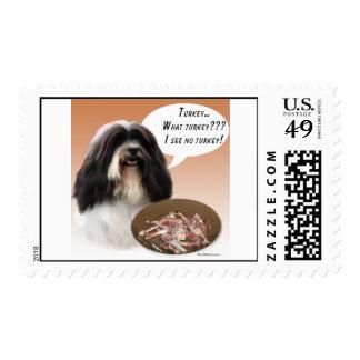 Havanese Turkey Postage Stamp