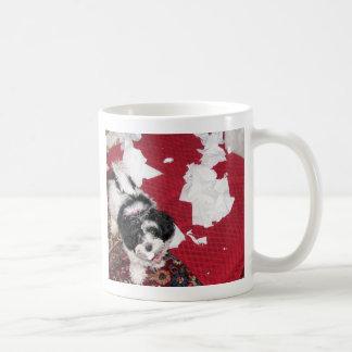 Havanese Uh Oh! puppy Coffee Mug