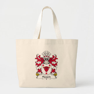 Havard Family Crest Tote Bags