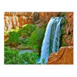 Havasu Falls Canyon Postcard