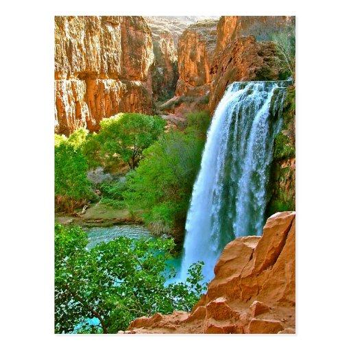 Havasu Falls Canyon Post Card