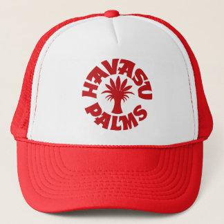Havasu Palms Drk Red Logo Hat