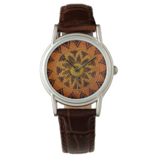Havasupai Indian Basket Watch