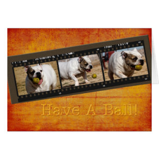 Have a Ball Card