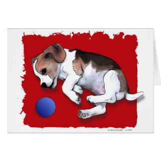 'Have a Ball' ~ Playful Puppy Card