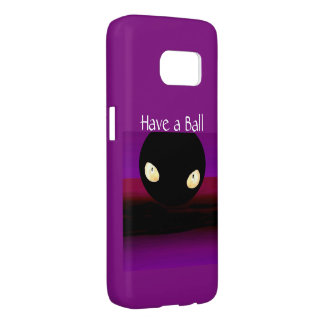 HAVE A BALL S7 iPhone Case- on Purple/Black Samsung Galaxy S7 Case
