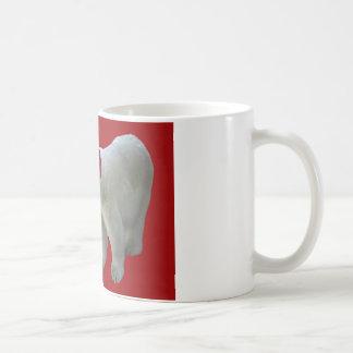 Have a Bearry Merry Christmas Polar Bear Santa Coffee Mug