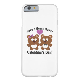 Have a Beary Happy Valentine's Day! Barely There iPhone 6 Case