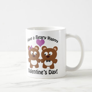 Have a Beary Happy Valentine's Day! Coffee Mug