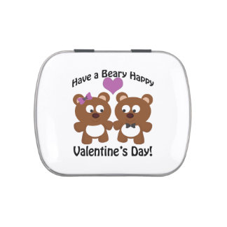 Have a Beary Happy Valentine's Day! Jelly Belly Tins