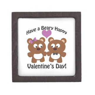 Have a Beary Happy Valentine's Day! Jewelry Box