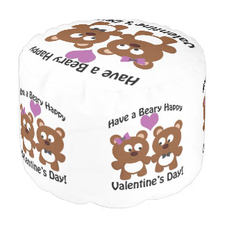 Have a Beary Happy Valentine's Day! Pouf