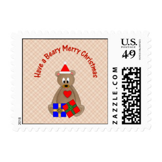 Have a Beary Merry Christmas Stamps