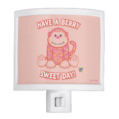 Have A Berry Sweet Day Night Lites at Zazzle