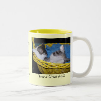 Have a better than Best day! Two-Tone Coffee Mug
