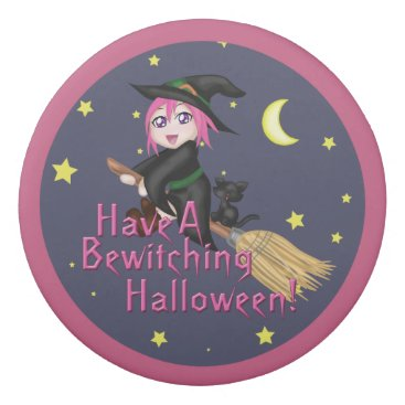 Halloween Themed Have a Bewitching Halloween! Eraser