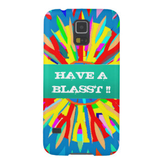 HAVE A BLASST : Editable Text Replace your OWN Galaxy S5 Case