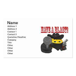 Have A Blast Business Card Template