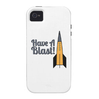 Have A Blast ! Case For The iPhone 4