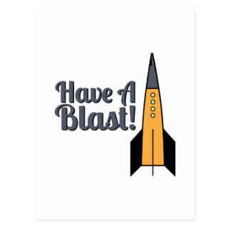 Have A Blast ! Postcard