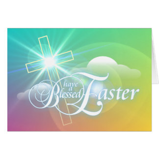 Have a Blessed Easter Greeting Card