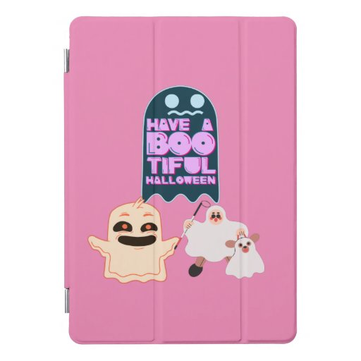 Have A BOO Tiful Halloween with Ghost iPad Pro Cover