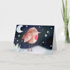Have a chirpy christmas! card