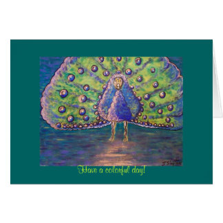 Have a colorful day! greeting card