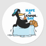 Have A Cool Day Round Sticker